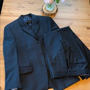 Men's Calvin Klein wool suit
